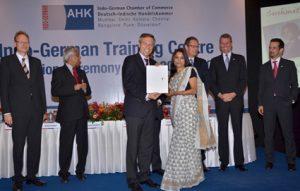 BMBF Certificate of Recognition to Alumni Sushmita Datta