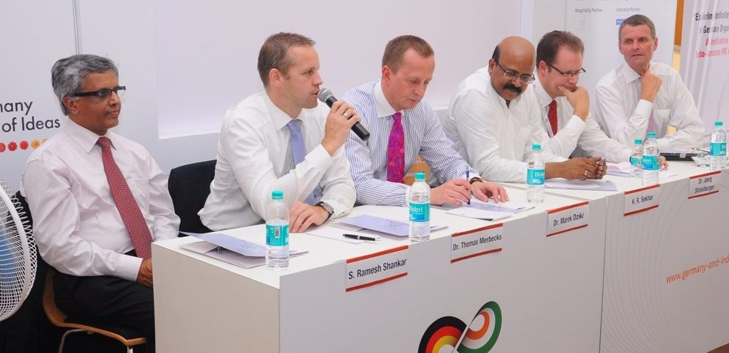 """Top Management of German organizations address students on """"Exploring Infinite Career Opportunities"""""""