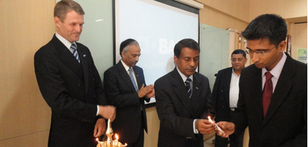 On 11th August 2011, BASF inaugurated a Seminar Series on Corporate Governance and Business Ethics for the students of Batch 2010-12 at the Indo-German Training Centre, Mumbai.