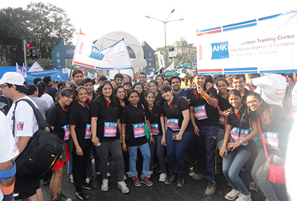 IGTC Students at the Mumbai Marathon