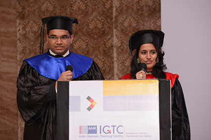 IGTC Students relive their 18 month journey at IGTC