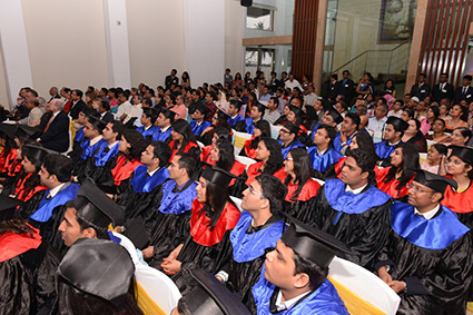 The audience enjoying the ceremony