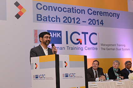 Mr. S. M. Fakih, Academic Faculty for Finance and Strategy at IGTC gives his profound advice