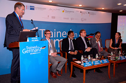 panel-discussion-at-the-trained-in-germany-mumbai-2014