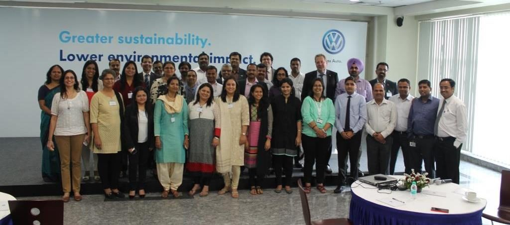 Indo-German HR Partners at Volkswagen Plant, Pune