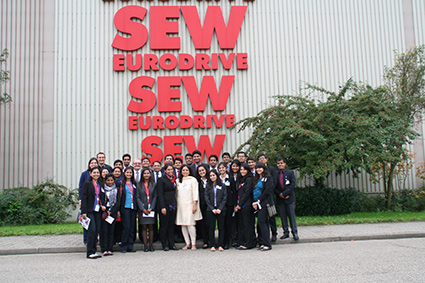 visit-to-the-sew%2c-one-of-the-biggest-manufacturers-of-belt-and-conveyor-drives