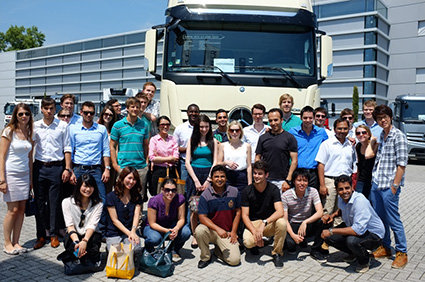 vivek-komath%2c-igtc-student-at-mercedez-plant-in-germany-with-other-trainees