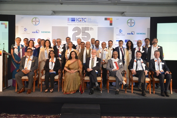 IGTC founders and faculty members along with IGCC's top management