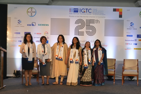 Ms. Radhieka Mehta, Director, IGTC, with her team of staff members who make everything possible!