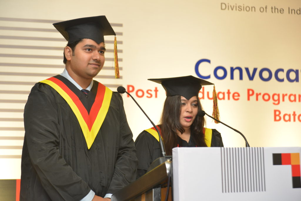 10 Bhargav Ghatpande and Sayali Pawale from graduating batch share their experiences at IGTC
