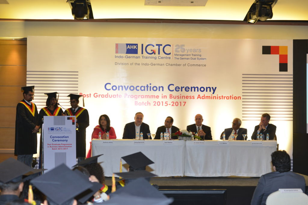 11 (2) Sneha Arakal, Mohit Sawant and Sandeep Selvan from the graduating batch share their experiences at IGTC
