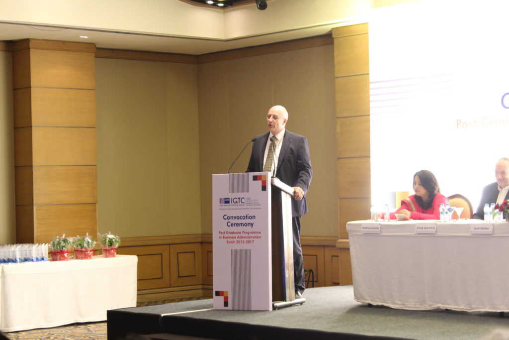 6 Address by Dr. Juergen Morhard, Guest of Honour and Consul General, German Consulate General