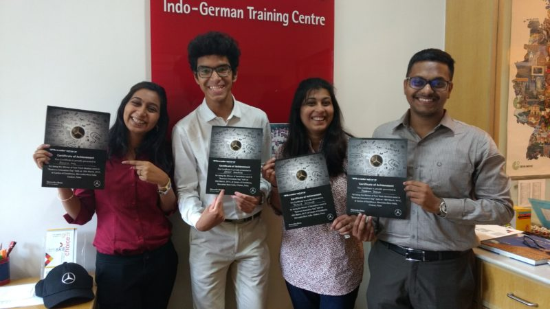 Winners from IGTC of the Hackathon and Fastrack Ideation