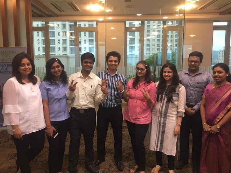 Radhieka R Mehta, Director, IGTC along with Team Wind changers, Ashwini Anil, Mayur Pawar, Aniruddha Aserkar, Kalyani Joshi, Maitreyee Joshi andPrabodh Jadhav and Sajita Pradeep, Manager-Marketing-IGTC