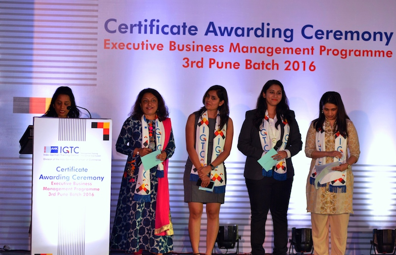 7. The women on the EBMP Pune Batch 2016,