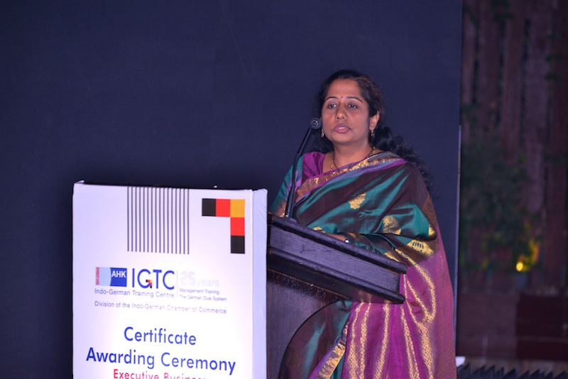 9. Ms. Mangala Krishnamurthy Deputy General Manager Financial Controlling Bosch Limited