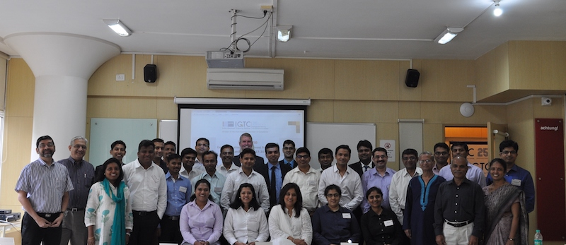 Participants of the 8th Mumbai EBMP Batch 2017 – 2018 at the inauguration ceremony