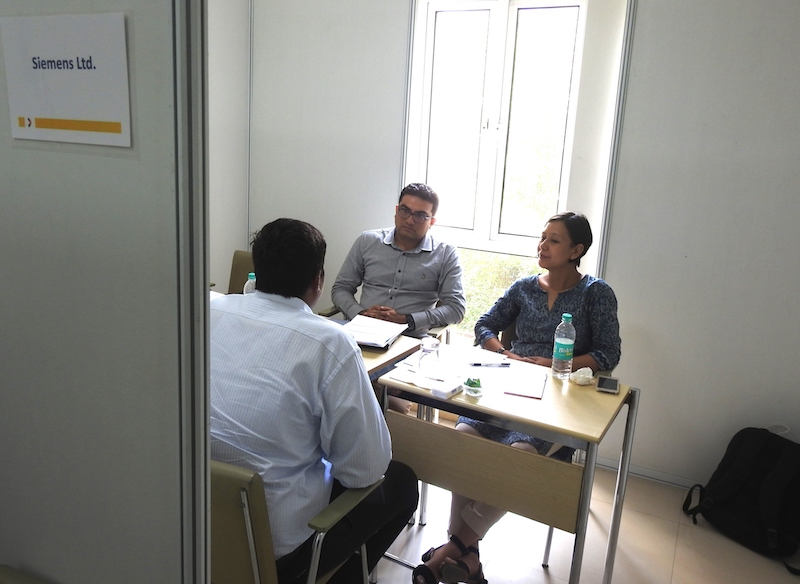 Interviews for the Siemens Scholarship