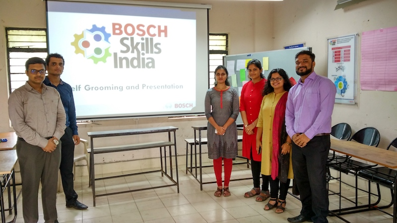IGTC team at Working at Pune on the skill development project – BRIDGE