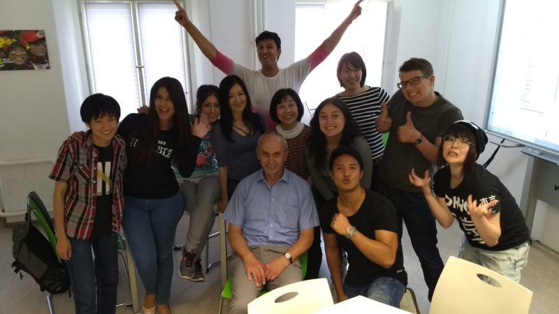 My class with an Expert Senior Professor