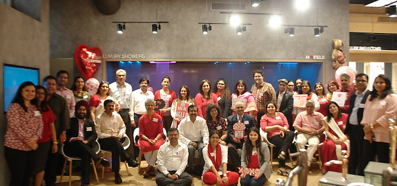 Attendees at the Indo-German HR Partner Forum meeting, hosted by Häfele India