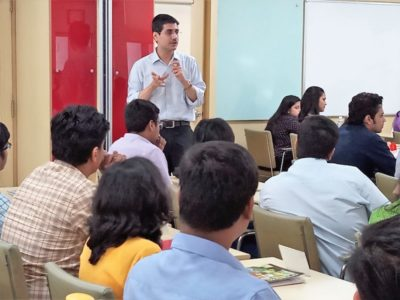 "Mr. Dinshaw Karanjia, General Manager -  Strategy, speaks on ""Finance and Ethics: Money and Morals"""