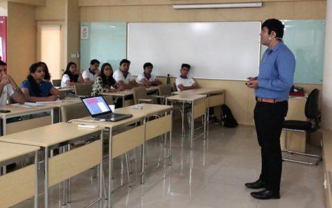 "Mr. Pankaj Bahl, Manager-Secretarial & Legal , spoke about  the ""Evolution of Corporate Governance & Business Ethics in India"""