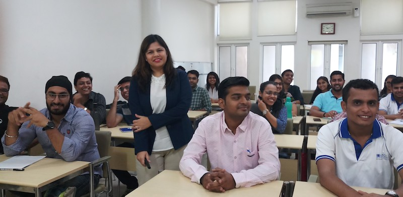 Vaishali Baid, 4 year worked in Bayer Group of Companies in different sourcing positions