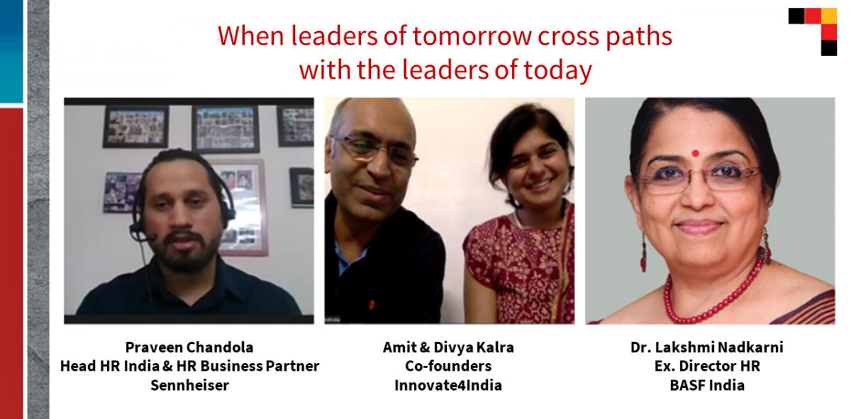 When leaders of tomorrow cross paths with the leaders of today!